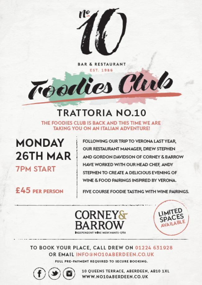 The Foodies Club is back...