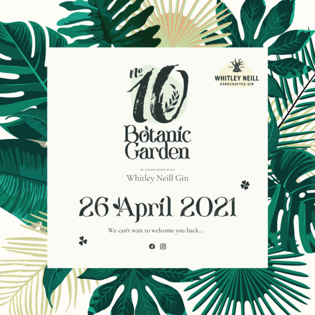 No.10 Presents...the No.10 Botanic Garden
