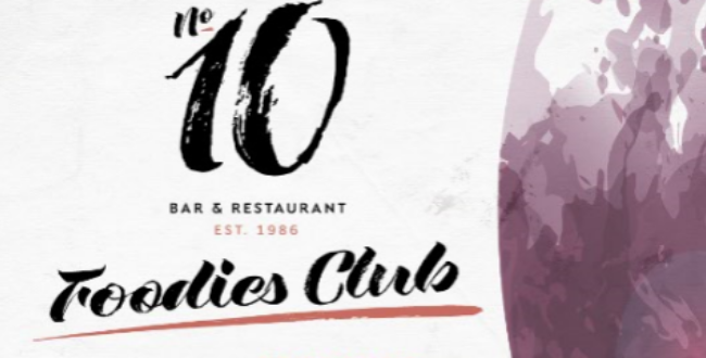 Introducing...the No.10 Foodies Club