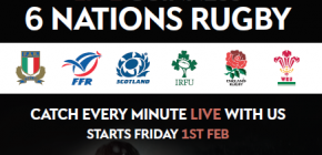 Six Nations at No.10 Bar & Restaurant