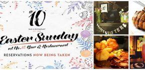 Easter Sunday Temptat10ns at No.10 Bar & Restaurant